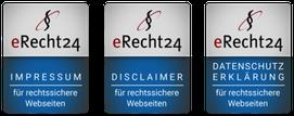 Siegel Rechtssichere Website