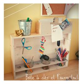 atelier, boite à clés, DIY, recyclage, avecpresquerien.deco