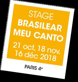 Brasilear Meu Canto, stage de chant avec Caroline Faber et Lanna Zita, A vous de jouer