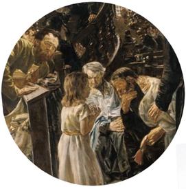 Jezus en de schriftgeleerden