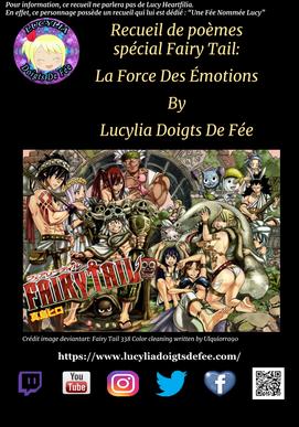 couverture du recueil La Force Des Émotions pour Fairy Tail