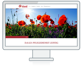 Website Referenz DASD Pflegedienst