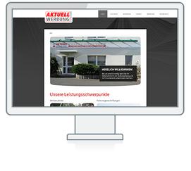 Website Referenz Aktuell Werbung