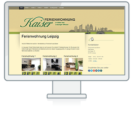 Website Referenz Ferienwohnung Kaiser