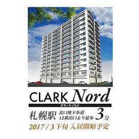 〒060-0809 北海道札幌市北区北9条西3丁目15-クラークノルド-ClarkNord