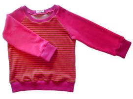 pink, grüner Niki für Kinder, faire Mode, Herzkind, Berlin