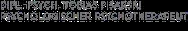Psychologe und Psychologischer Psychotherapeut (Verhaltenstherapie und Spezielle Schmerzpsychotherapie) Tobias Pisarski (Praxis für Psychotherapie und Beratung München)