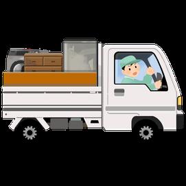 土浦市の家具処分、ソファー、ベッド、タンス、食器棚、テーブル、机、イスの引き取り