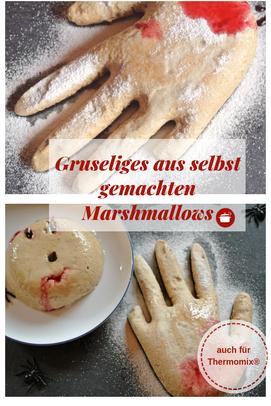 Gruseliges #Halloween #Marshmallows - auch #Thermomixrezepte