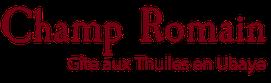 logo gîtes champs romain aux thuiles en ubaye