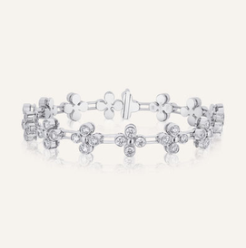 "High Jewelry Bracelet ""Adore"" - 100% Swiss handmade"