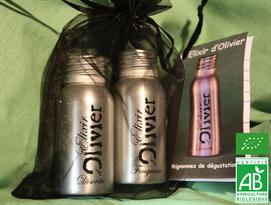 Dégustation huile d'olive bio