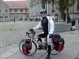 Mit neuem Rad in Braunschweig