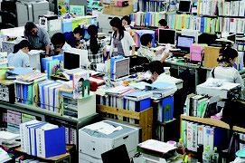 機構改革に向けて調査研究を行っている竹富町(資料写真)