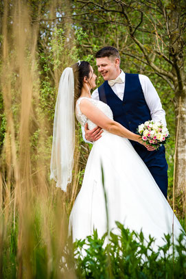 Brautpaar Shooting von Franziska & Gregor in Marschacht - Hochzeitsreportage von FOTOFECHNER
