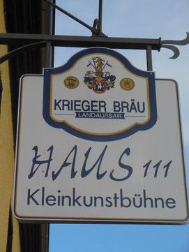 Kleinkunstbühne Haus 111 in Wildthurn