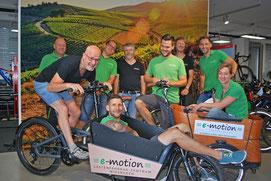 Unsere e-motion e-Bike Experten in Wiesbaden