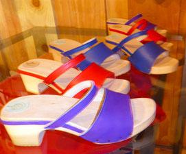modèle de sandales d'été Elvire des sabots d'isa