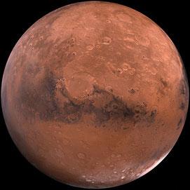 """Die Farbe des vierten Planeten brachte die Menschen dazu, die """"rote Kugel"""" mit dem blutigen Kriegshandwerk zu assoziiren"""