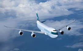 CX Cargo's 747-8Fs can soon be seen on transatlantic routes  /  source Cathay
