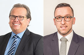 Carsten Ernst und Bertram Wohlschlegel
