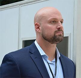AREGO CEO Adam Baadsgaard