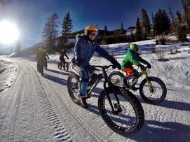 Alpine Fatbike Hochwurzen Downhill