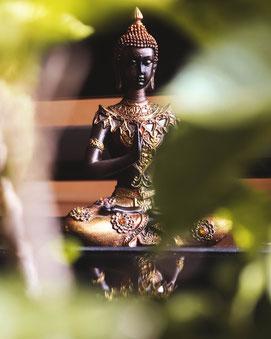 Innere Achtsamkeit und Meditation im Coaching - Buddhabild