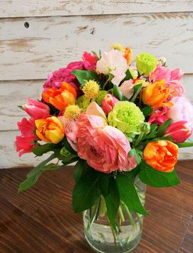 季節の花束(参考、1月作品)