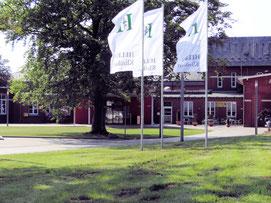 Eingang  des Helios Seehospital in Sahlenburg