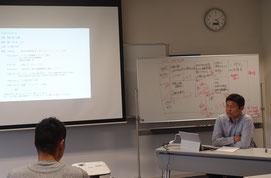 起業の体験談を話すウッドランドファーム 新田聡氏