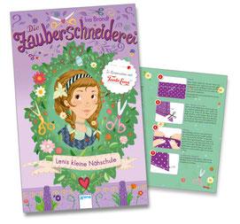 """""""Die Zauberschneider - Lenis kleine Nähschule"""" - dieses Booklet liegt allen ersten Bänden der Reihe bei"""