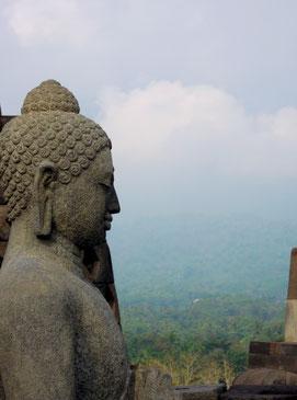 Borobodur, Indonesien (c) Claudia Stift