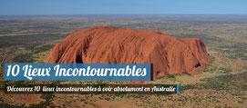 10 lieux incontournables en Australie