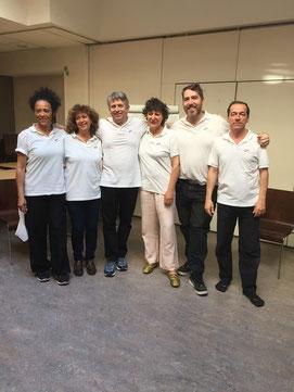 David Palmer, Xavier Court et son équipe (Master class organisée par Xavier Court Formations 7 juin 2015)