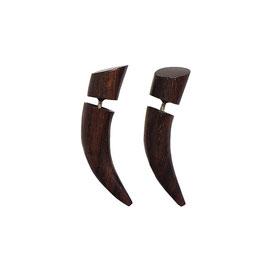 Talon Buffalo Tribal Earrings フェイクゲージピアス バッファローボディーピアス