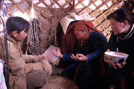 symboles et traditions sous la yourte mongole