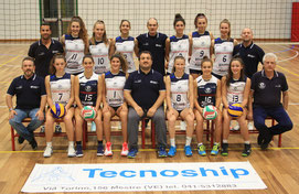 Gara 1 dei quarti all'Under 18 Femminile