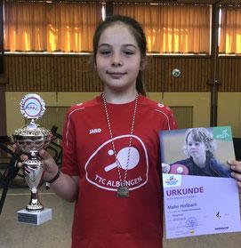 Landessiegerin: Mailin Hoßbach.