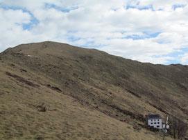 Il Todane e il rifugio del Pian Cavallone