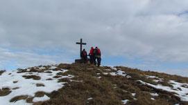 Arrivo in vetta al Monte Todano