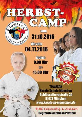 Karate München Herbst Camp