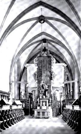 Nonnenempore Kloster Oelinghausen, Foto von 1906 (Quelle: Wikipedia)