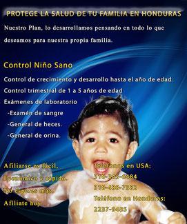 Control niño sano