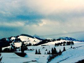 Skifahren geht hier überall