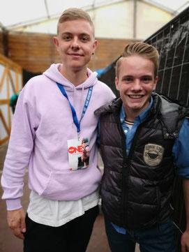 Influencer Jonas Ems und Florian Faab