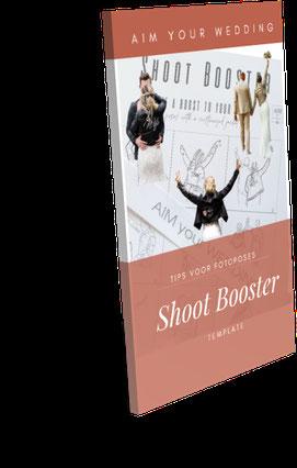 shoot booster poses voor trouwfotograaf