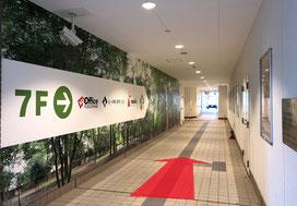 セブンイレブン、能開センター福島校の間に通路があるので、奥に進んでください。
