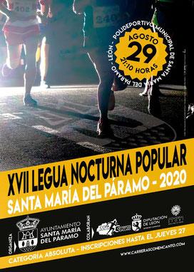 Legua Nocturna Santa María del Páramo