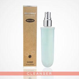 Beauty Hills, Kosmetik, Umweltschutz, Nachhaltigkeit, Nachfüller, Refill, Produkt Cleanser Intensive